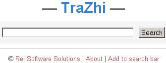 trazhi.com - internet pretrazivac